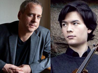 Jeremy Denk, & Stefan Jackiw, violin, with Hudson Shad