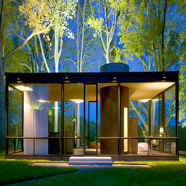 The Phillip Johnson Glass House An Architect In The Garden
