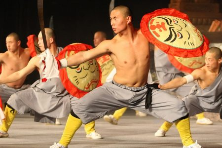 Martial Artists & Acrobats of Tianjin, China