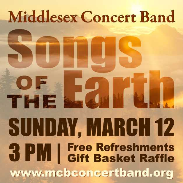 Middlesex Concert Band Songs of the Earth Concert presented by