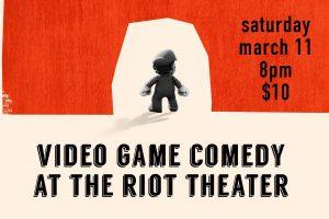 Miyamoto's Revenge: Video Game Comedy