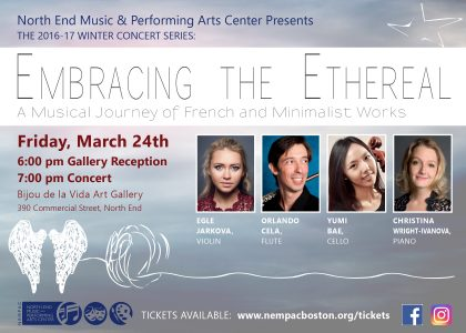 NEMPAC Presents: Embracing the Ethereal - A Musical Journey of French and Minimalist Works