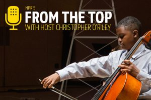 NPR's From the Top with Host Christopher O'Riley
