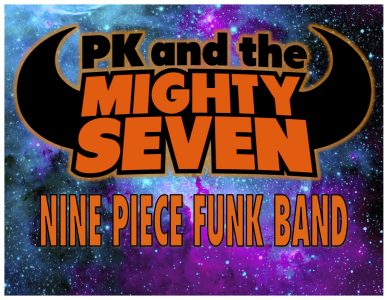PK and the Mighty Seven (9-piece funk band)