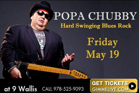 Popa Chubby - Hard Swinging Blues Rock