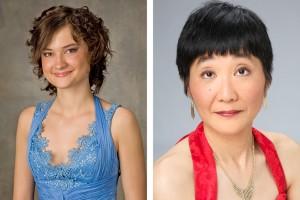 Rasa Vitkauskaite and Shizue Sano, pianos