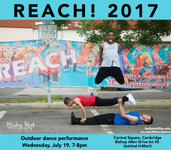 Reach! Outdoor Dance Performance