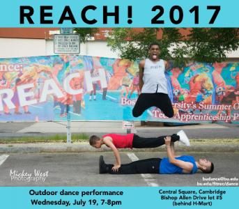 Reach! Outdoor Dance Performance