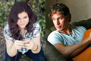 Rebecca Loebe and Jesse Terry at Old Sloop Coffeehouse