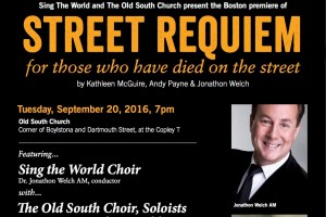 STREET REQUIEM for those who have died on the street
