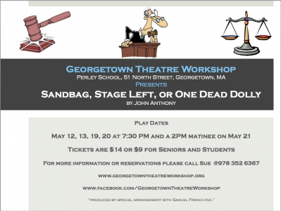 Sandbag, Stage Left, Or One Dead Dolly by John Anthony