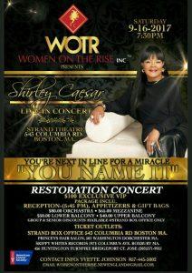 Shirley Caesar Restoration Concert