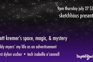 SketchHaus Presents: Scott Kremer's Space, Magic & Mystery!