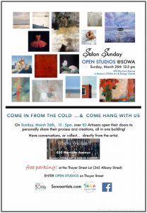 SoWa Artists Guild SALON SUNDAY