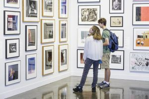 Student Loan Art Collection Exhibition Tour