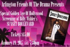 Sunset Boulevard: Golden Age of Hollywood screening of this film noir classic