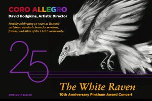The White Raven: 10th Annual Pinkham Award Concert