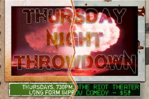 Thursday Night Throwdown!