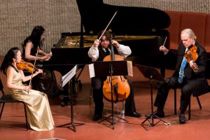 from the painter's hand: Schumann Piano Quintet, Ravel, & Poulenc