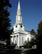 First Parish Church in Lexington