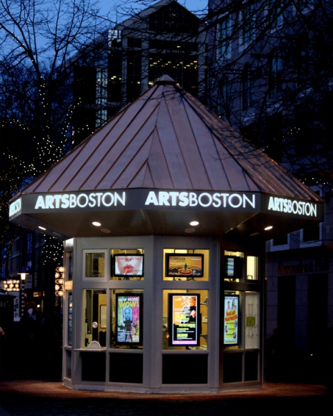 Art Calendar Boston : Artsboston bostix booth at faneuil hall marketplace